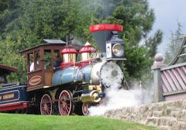 """Mise à jour de la page """"Disneyland Railroad"""""""